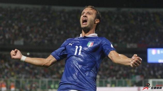 意大利前锋吉拉迪诺已经正式退役