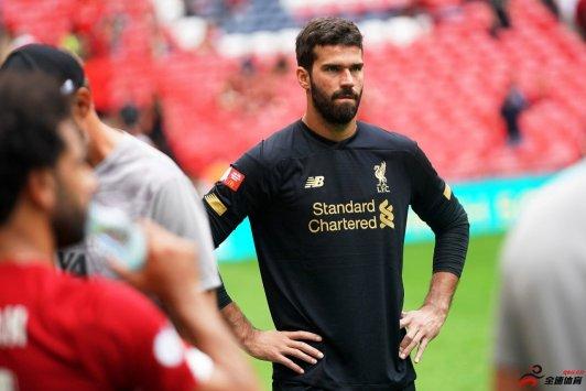 利物浦门将教练:阿利森未来会是一名顶级门