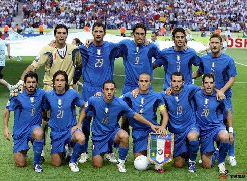 踢而优则教,2006年世界杯意大利冠军阵容中