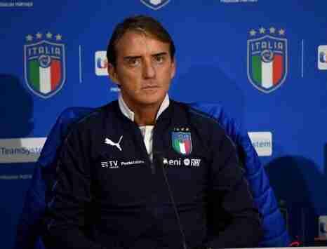 曼奇尼:意大利队参加欧洲杯就是追求胜利的
