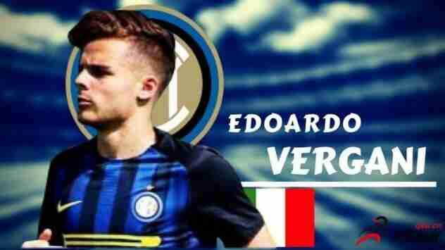 国际米兰19岁的锋线小将爱德华多-韦尔加尼正
