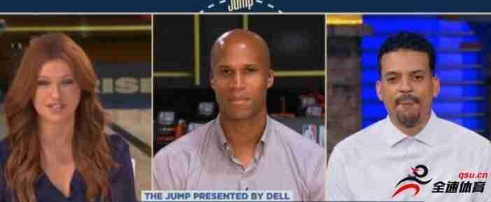 马特-巴恩斯在今日做客The Jump节目时谈到了勇