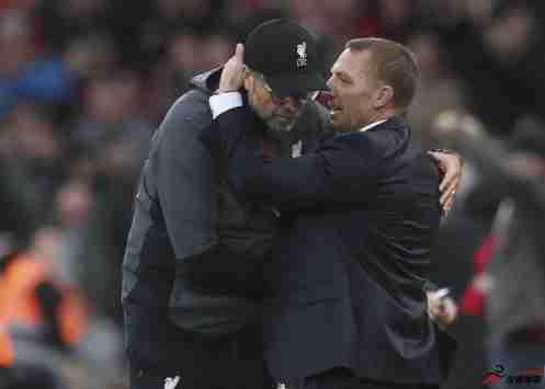 罗杰斯在执教莱斯特城后联赛3次面临利物浦