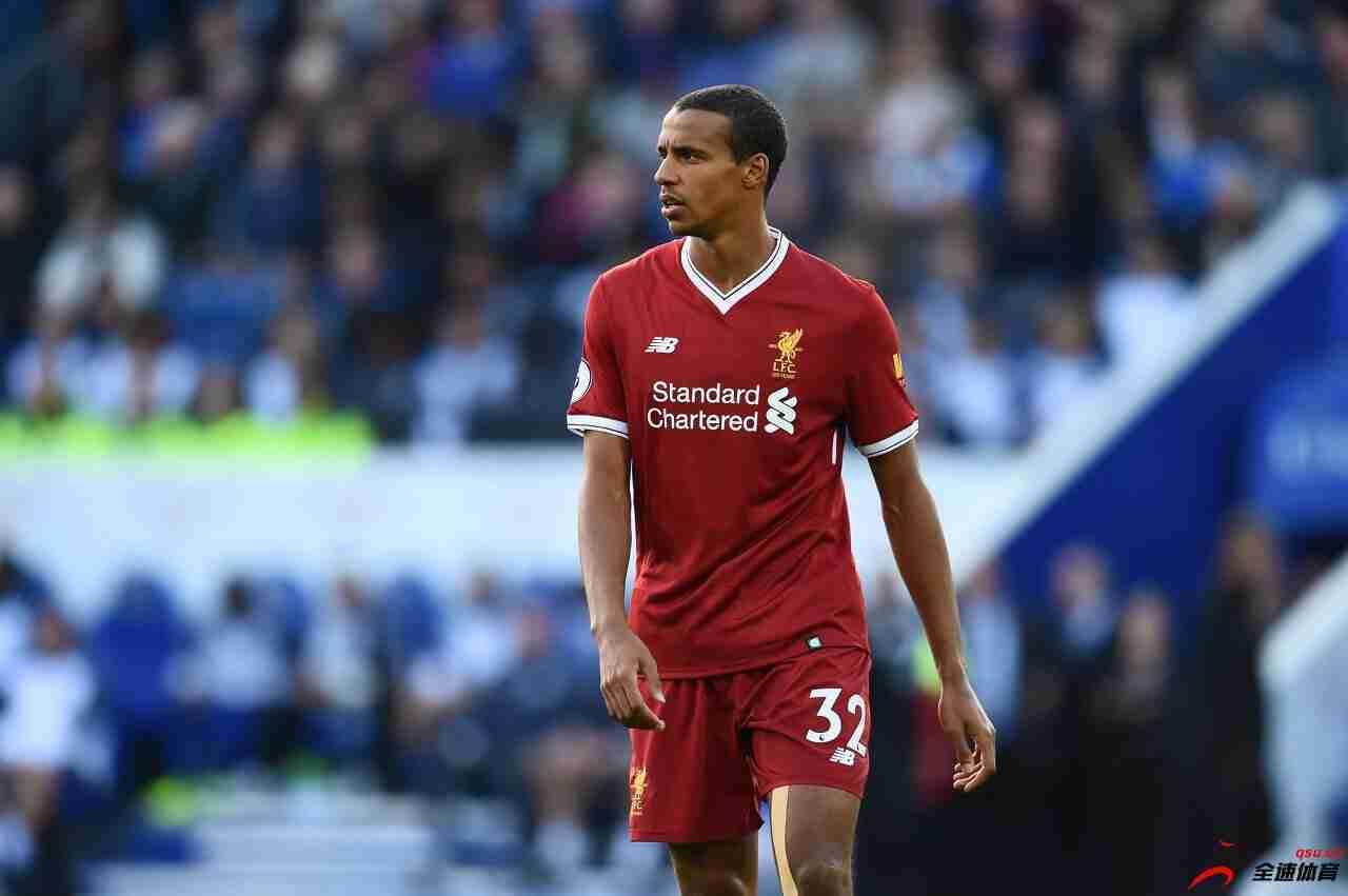 利物浦官方消息,后卫马蒂普脚踝韧带受伤