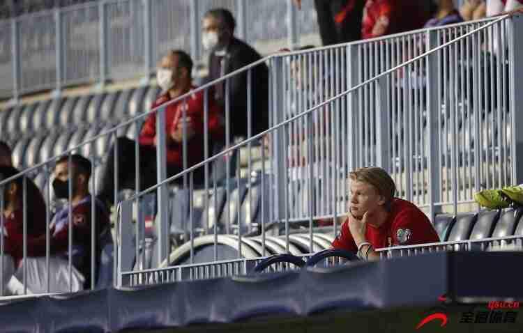 里瑟:当挪威队遇到困难时,我没看到哈兰德拿出在多特的优秀表现