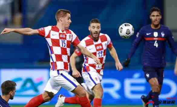 克罗地亚对阵法国,2比4被击败