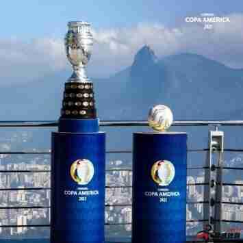 本届美洲杯冠军将获1000万美元奖金,较上年增加250万