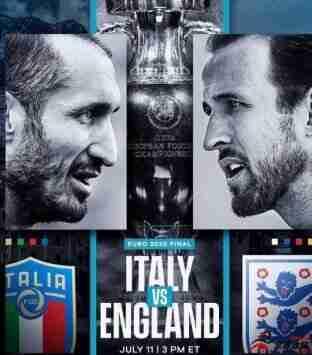 詹俊看好英格兰夺冠:英格兰对场上控制能力强于意大利