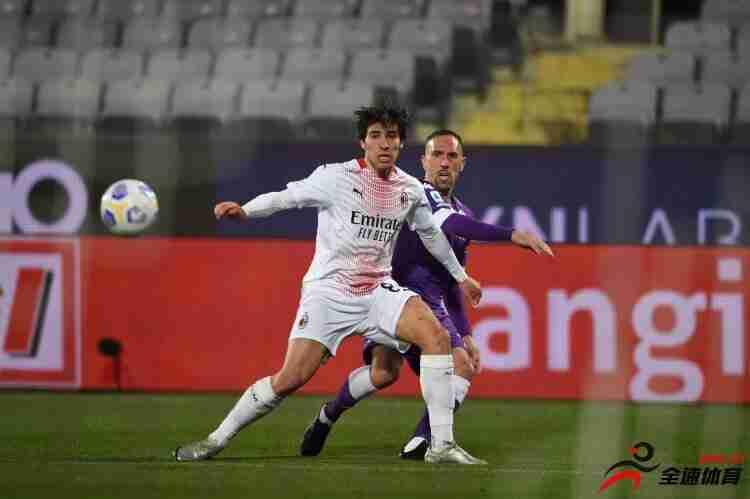 米兰将以2000万欧买断托纳利,球员本人降薪40万欧