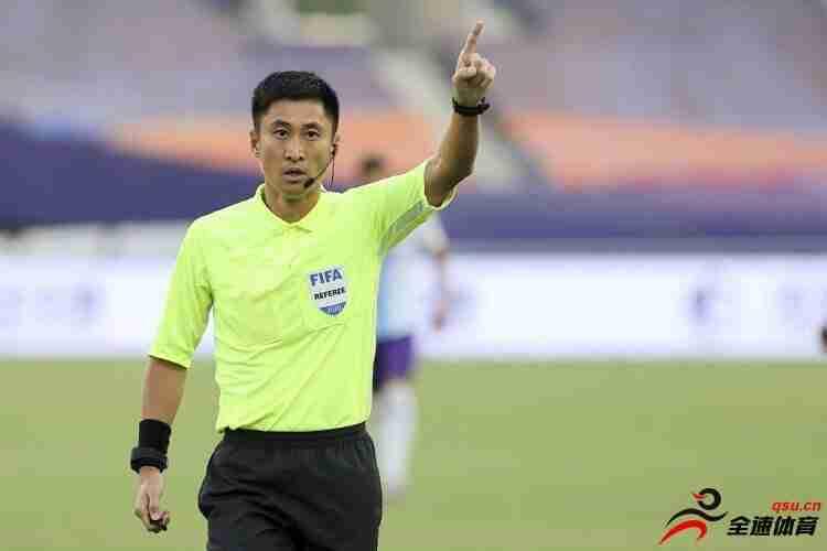 马宁等5名中国裁判与国足同日出征,参与12强赛执法