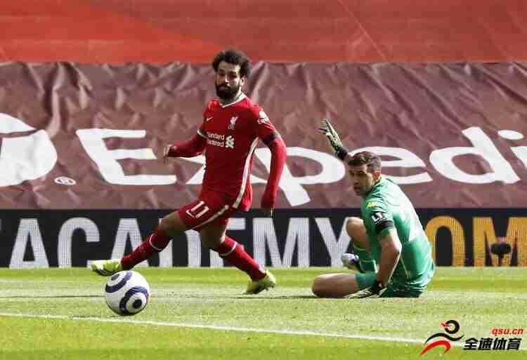 利物浦与萨拉赫的续约谈判卓有成效 预计会与球队续约至2025年