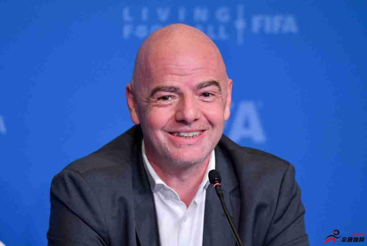因凡蒂诺谈两年一届世界杯构想:将征求各方意见,需要折衷方案