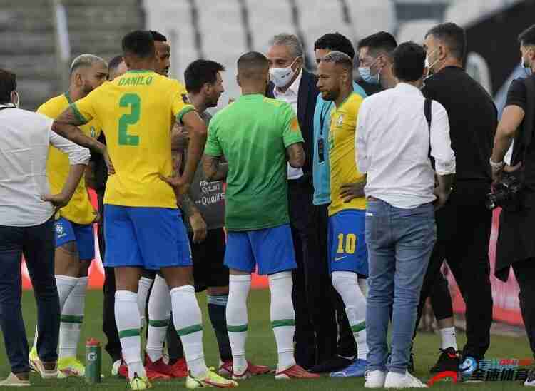 阿足协在赛后报告中向南美足联表明比赛中断责任在巴足协