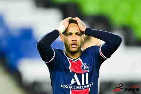 勒伯夫:内马尔承受了太多的压力,但我对他